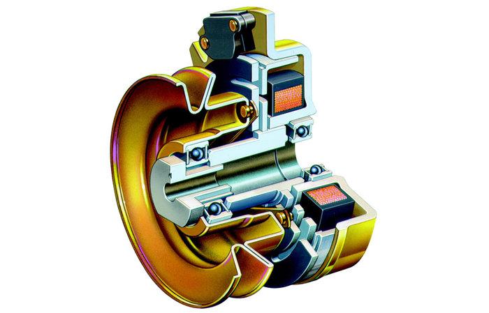 elektromagnetische Kupplung -  Der schnellste und sicherste Weg die kraftvollen Messer zu stoppen.