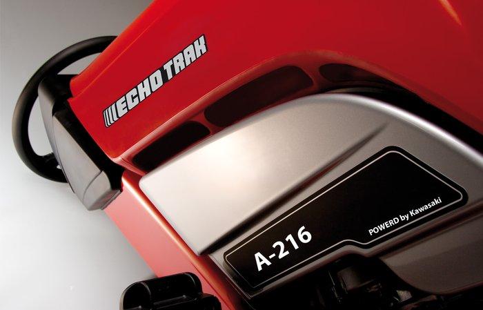 leiser mähen -  Doppelt hält besser: Die doppelwandige Motorhaube ist nur ein Teil von vielen, das den ECHOTRAK so leise macht.