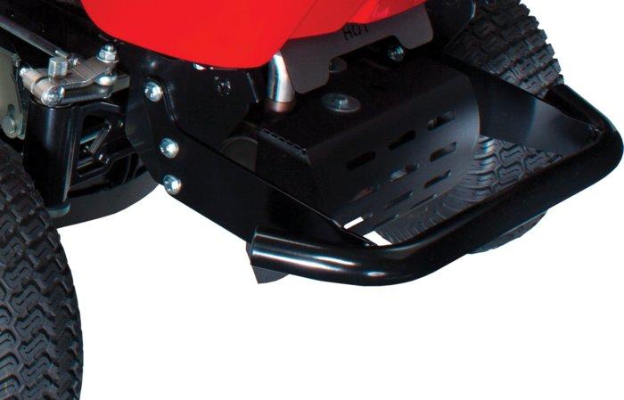 robuste Rahmenkonstruktion -  Alle Modelle der ECHOTRAK-Familie sind äußerst robust gebaut. Der Rahmen ist prinzipiell aufgebaut wie ein Fahrzeugrahmen aus der Pkw-Konstruktion und daher besonders belastungsfähig.