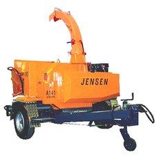 Holzhacker: Jensen - A231 Holzhacker auf Fahrgestell