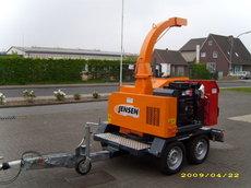 Mieten Holzhacker: Jensen - A328 D Holzhackmaschine (mieten)