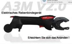 Rebscheren: Infaco - A3M V 2.0 Elektrisches Rebenbindegerät