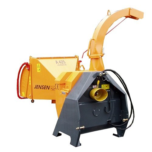 Holzhacker:                     Jensen - A425 Holzhacker Zapfwellenmaschine