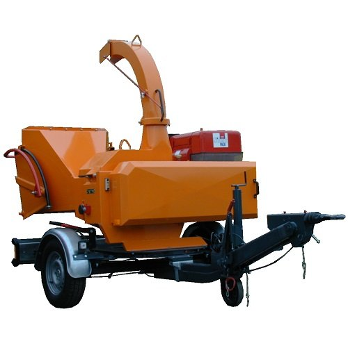 Holzhacker:                     Jensen - A425 Holzhacker auf Fahrgestell