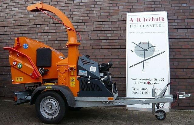 Gebrauchte                                          Gartenhäcksler:                     Jensen - A530 L mit Benzinmotor (gebraucht)