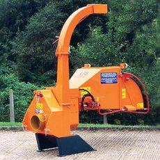 Holzhacker: Jensen - A530  Zapfwellenmaschine