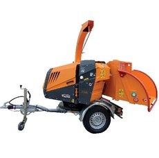 Mieten  Gartenhäcksler: Jensen - A540 Holzhacker auf Fahrgestell - Mietgerät (mieten)