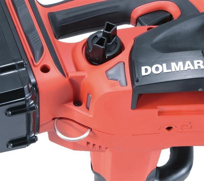 Ring für das sichere Aufhängen und Abseilen der Maschine - auch Baumkletterer, Dachdecker und andere Bauhandwerker sind mit der Dolmar AS 3625 bestens für Ihre Aufgaben gerüstet.