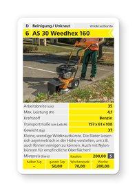 Mieten Wildkrautbürsten: AS-Motor - AS 30 WeedHex 160 (mieten)