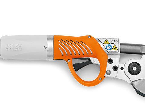 Aluminium-Gehäuse  Das robuste Aluminium-Gehäuse schützt das Innere der STIHL ASA 85 optimal vor Schmutzpartikeln und sorgt so für eine lange Lebensdauer des Geräts.