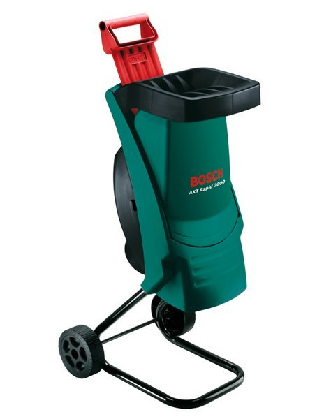 Gartenhäcksler:                     Bosch - AXT Rapid 2000