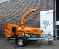 Angebote  Gartenhäcksler: Jensen - A 540 auf Achse (gebraucht, Empfehlung!)