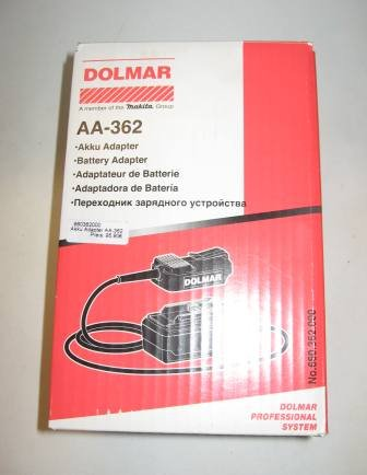 Akkus und Akkuzubehör:                     Dolmar - Akku-Adapter AA-362
