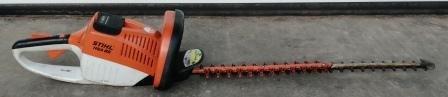 Gebrauchte                                          Akkuheckenscheren:                     Stihl - Akku-Heckenschere HSA 85 mit Akku 190007 (gebraucht)