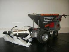 Kehrmaschinen: PowerPac - Akku Winterdienstmaschine