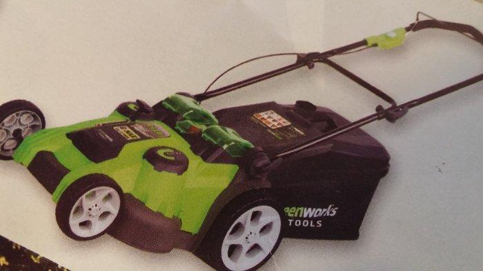 Akkurasenmäher:                     Greenworks - Akkurasenmäher