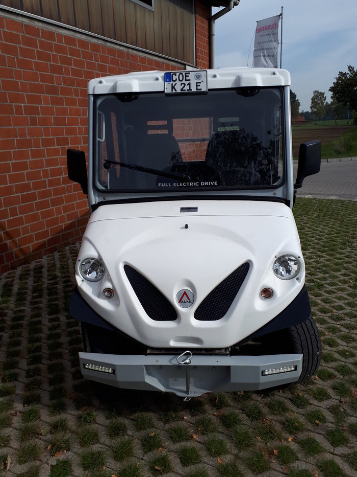 Gebrauchte                                          Elektrofahrzeuge:                     Alke - Alké Elektro ATX 240 E Vorführmaschine  (gebraucht)