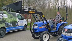 Gebrauchte  Allradtraktoren: Iseki - Allradschlepper TX 155 (gebraucht)