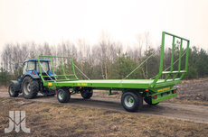 Transporttechnik: Wielton - Wielton Ballenwagen - das letzte sofort verfügbare Modell -