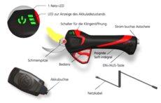 Akkuastscheren: Infaco - Astschere F 3015 Medium