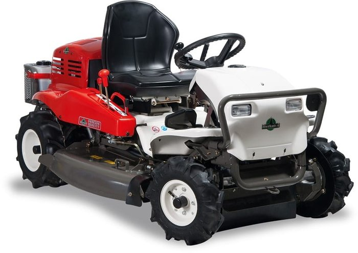 Aufsitzmäher:                     Herkules - Aufsitzmäher RM 980 F 4WD Automatik