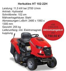 Rasenmäher: Herkules - Aufsitzrasenmäher Herkules HT 102-22H