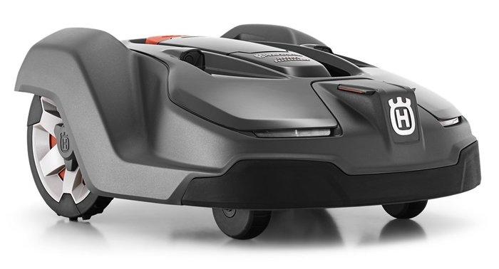 Gebrauchte                                          Rasenmäher:                     Husqvarna - Automower 450X - Mähroboter mit XXTra-VORTEIL Ausstellungs-Neumaschine & NICHT (gebraucht)