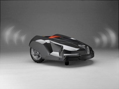 Der Automower® ist zum Schutz mit einem PIN Code System ausgerüstet.