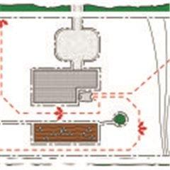 Fünf verschiedene Startpunkte Sie erhalten ein einheitliches Schnittergebnis auf dem gesamten Rasen dank der Möglichkeit, das Mähen an fünf verschiedenen Stellen entlang des patentierten Führungskabels, ausgehend von der Ladestation, zu starten. Je größer die Grasfläche, desto besser und umso wichtiger sind mehrere Startpunkte. Bei aktiver GPS-gestützter Navigation (bestimmte Modelle) werden die Startpunkte automatisch eingerichtet, und manuelle Einstellungen sind nicht erforderlich.