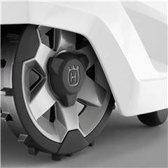 Geländeräder Kraftvolle Räder mit einem gröberen und aggressiveren Reifenmuster. Bieten bessere Traktion und verbesserte Leistung in Hanglagen und unebenem Gelände.
