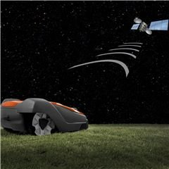 GPS-unterstützte Navigation Ein GPS-Modul erfasst die Fläche des Gartens innerhalb des Begrenzungskabels. Somit registriert der Automower® genau, welche Flächen schon gemäht wurden und passt sein Mähmuster dementsprechend an - für ein gleiches und hervorragendes Mähergebnis.