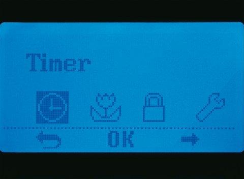 Timer: Sie bestimmen wann der Automower® den Rasen mäht (Bitte beachten Sie die gesetzlichen Bestimmungen hinsichtlich möglichen Einsatzzeiten).