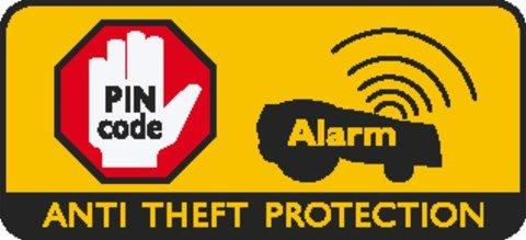 PIN Code Sperre: Der Automower® ist zum Schutz mit einem PIN Code System ausgerüstet.