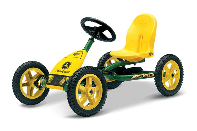 Pedal GoCarts:                     BERG Toys - BERG Buddy John Deere