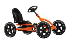 Pedal GoCarts: 						BERG Toys - BERG Buddy Orange