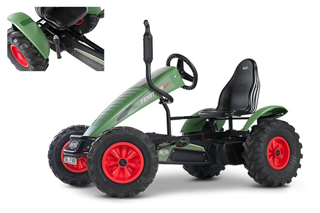 Pedal GoCarts:                     BERG Toys - BERG Fendt BFR-3
