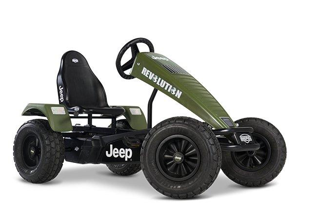 Pedal GoCarts:                     BERG Toys - BERG Jeep Revolution pedal-Gokart BFR