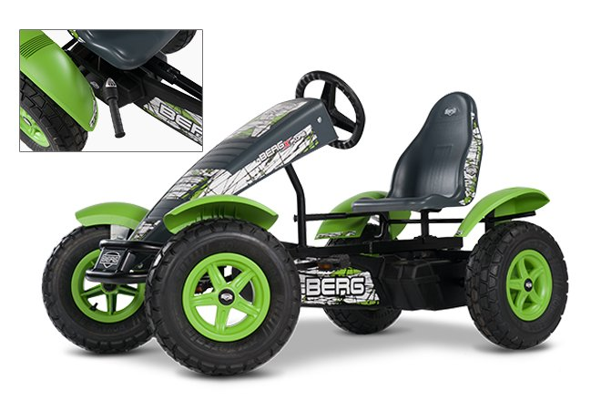 Pedal GoCarts:                     BERG Toys - BERG X-plore BFR-3