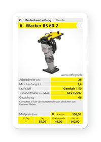 Mieten  Stampfer: Wacker - BS 60-2 (mieten)