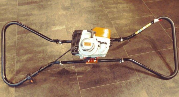 Gebrauchte                                          Erdbohrer:                      STIHL - BT 360 Bohrgerät, 2-Mann-Bohrgerät + Neuwertig (gebraucht)
