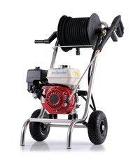 Kaltwasser-Hochdruckreiniger: Kränzle - B 16/250 mit Edelstahlfahrgestell, Drehzahlregulierung und Schlauchtrommel