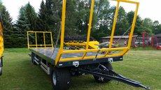 Anhänger: Wielton - Ballenwagen PRS3 / S14