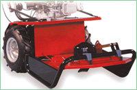 Optionales Anbaugerät: Hochgrasmähwerk 53 cm Schnittbreite Schnitthöhe von 20 - 80 mm