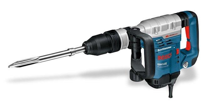 Mieten                                          Abbruchtechnik:                     Bosch - Bohr- und Stemmhammer (mieten)