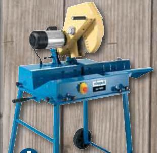 Wippkreissägen:                     Scheppach - Brennholzkappsäge Ics 400