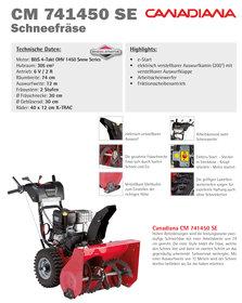 Angebote  Schneefräsen: Gardenpro - KCM521-F Schneefräse (Aktionsangebot!)