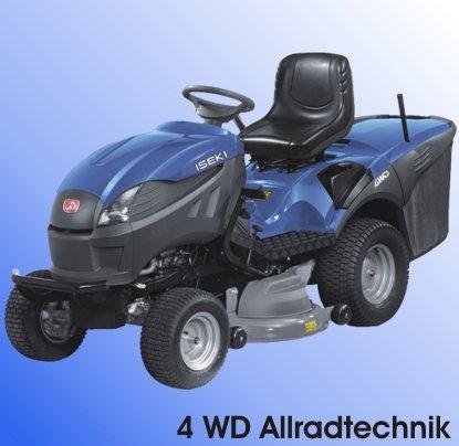 Rasentraktoren:                     Iseki - CM 7421 4WD