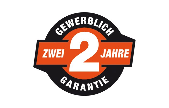2 Jahre Garantie - 