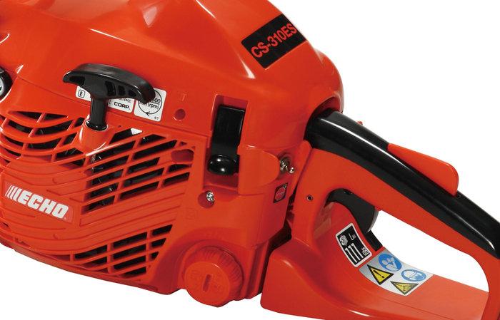 Luftfilterabdeckung mit Schnellverschluss  Der Schnellverschluss spart Zeit beim Vornhemen kleiner Wartungsarbeiten, wie die Reinigung des Luftfilters oder das Wechseln der Zündkerze.