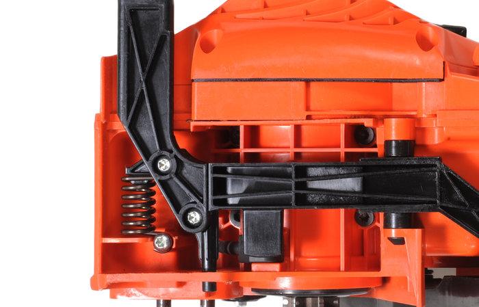 Anti-Vibrationssystem  Das ausgeklügelte ECHO-Anti-Vibrations-System dient der Vibrationsreduzierung bei Motorgeräten. Schwingungen werden dadurch von der Hand des Anwenders ferngehalten.